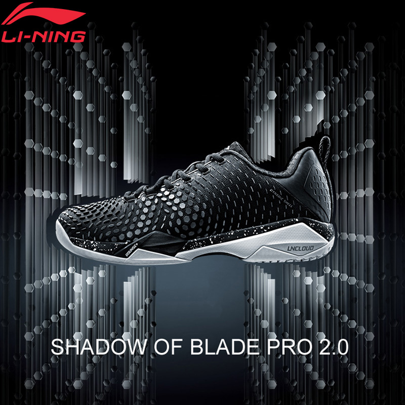 Li-ning hommes ombre de lame PRO 2.0 Badminton chaussures dynamique SHELL BOUNSE + doublure nuage Sport chaussures baskets AYAN013 XYY090