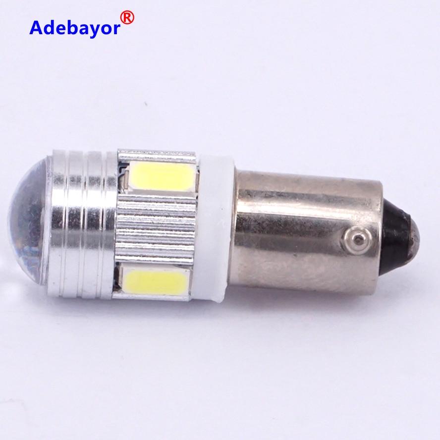 10PCS Socket Xenon LED Light Bulb Car Truck Connector T11//BA9S B