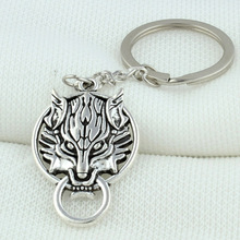 High quality zinc alloy Personality car pendant cute leopard head Keychain Key Chains Keying Key cases