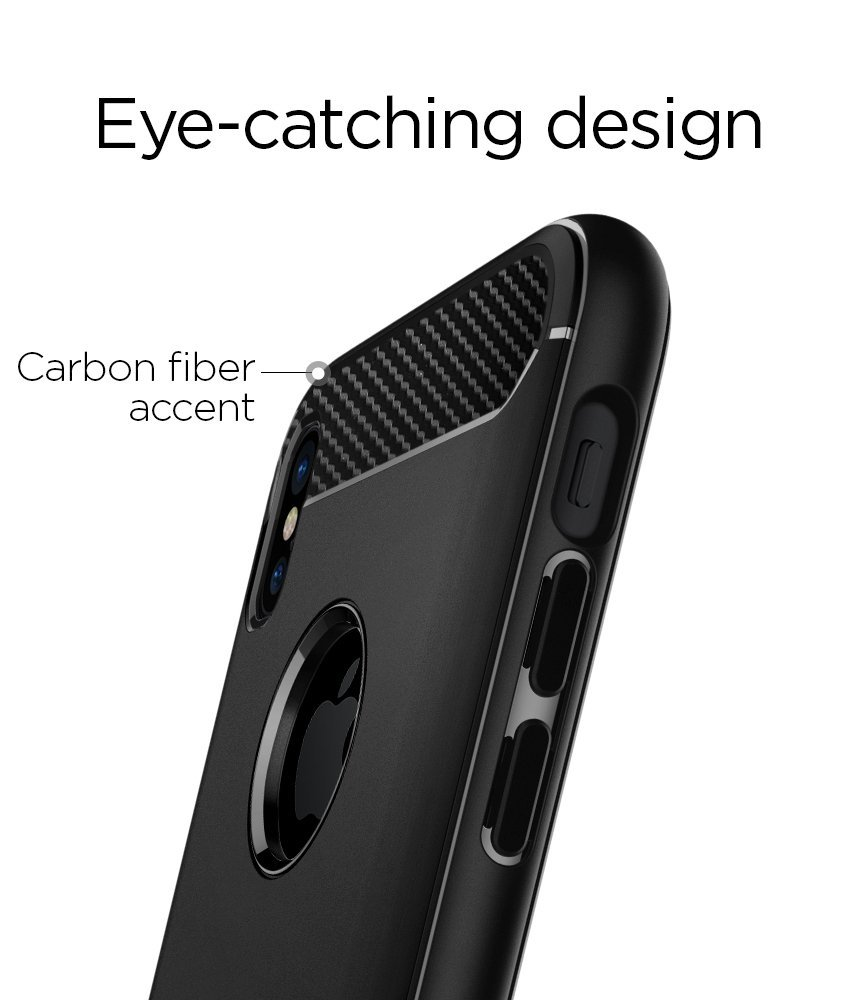 Spigen Rugged Armor Cases For Iphone X Xs