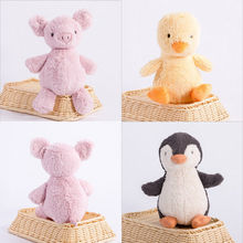 26cm 2017 Baby Kids Gift Lovable Pig/Chick/Penguin Plush Stuffed Doll Toy Stuffed Animal