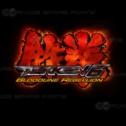 Ps3 style console video game machine tekken 6 bloodline rebellion Motherboard sanwa button and joystick use in video game console with multi games 520 in 1