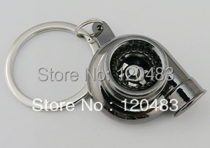 ,gun dark color Turbo Charger, Turbocharger keychain keyring , Turbine, Turbo, Kits, metal Keychains - Shopping bag factory store