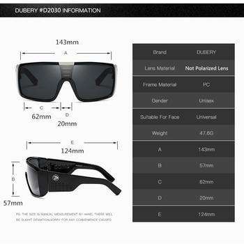 DUBERY Oversized Sunglasses  1