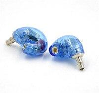 Nieuwe Blauw AK846 5BA/6BA In Ear Oortelefoon Balanced Armature Oortelefoon DIY Klant Gemaakt Rond Oor Headset Met MMCX Goed als SE846