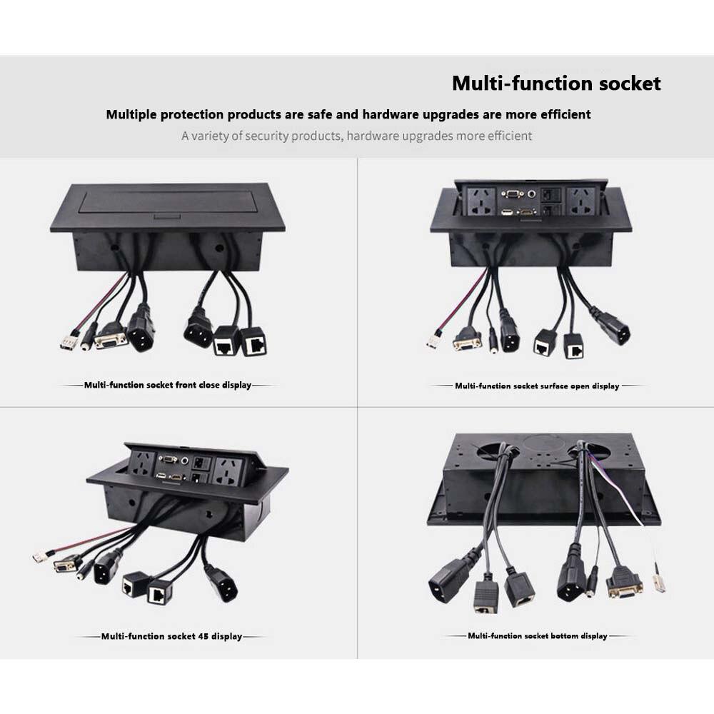 Nouveau K514 AU/EU/US Standard/universel/prise de table/caché/HDMI haute définition multimédia prise de bureau Pop-up - 3