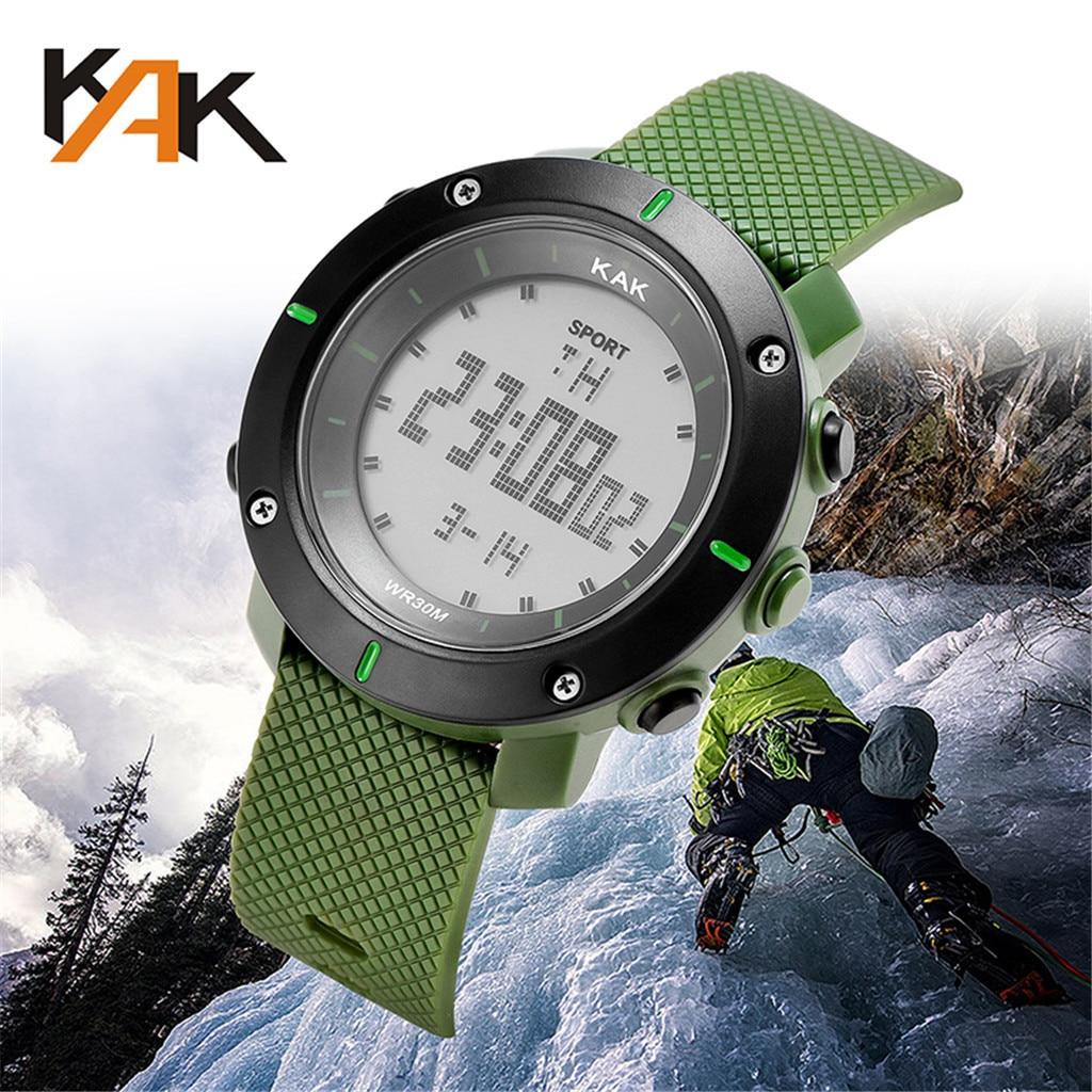 Watches Men 30M Waterproof Electronic LED Digital Watch Men Outdoor Mens Sports Wrist Watches Stopwatch Relojes Hombre D4