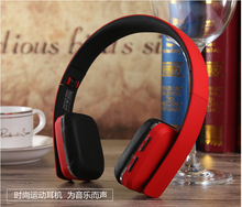 2016 New Wireless Bluetooth V4.1EDR Headset headphones Support Handsfree with Intelligent Voice Navigation for Cellphones Tablet