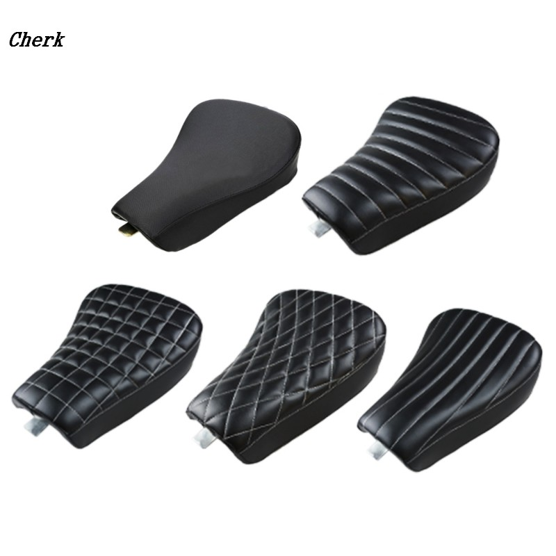 5 Models New Black Motorcycle Front Driver Leather Pillow Solo Seat Cushion For Harley Sportster Forty Eight XL1200 883 72 48 motorcycle solo front driver seat and rear passenger seat cushion for harley sportster forty eight xl1200 883 72 48