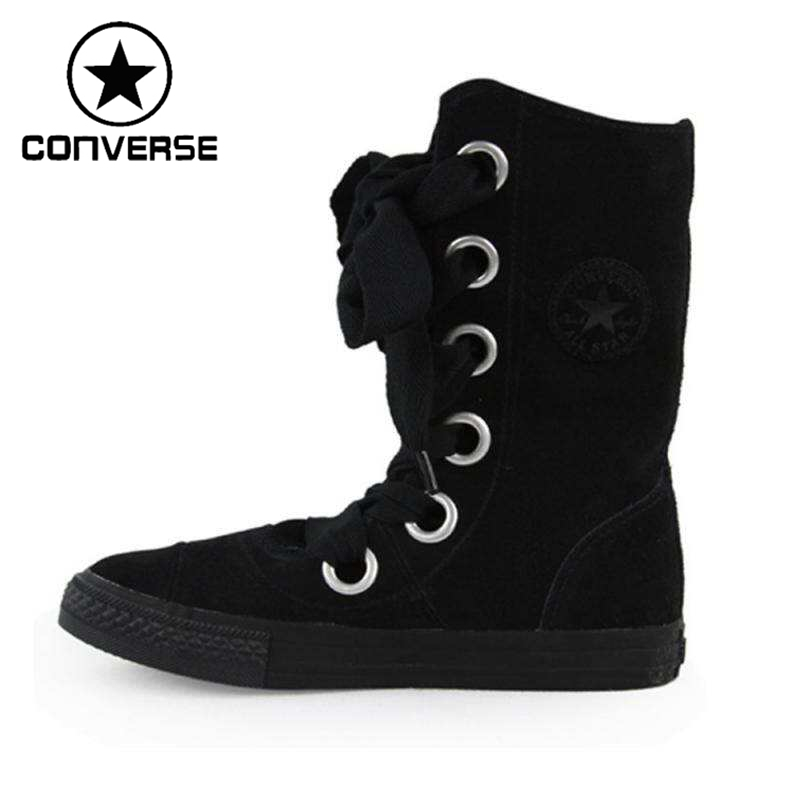 Original Converse Women's Skateboarding Shoes High top Sneakers