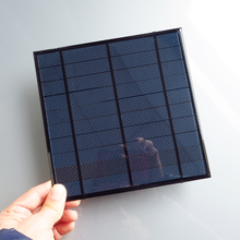 1pc 5V 4.5W 4.2W 840mA Mini monocrystalline polycrystalline solar Panel