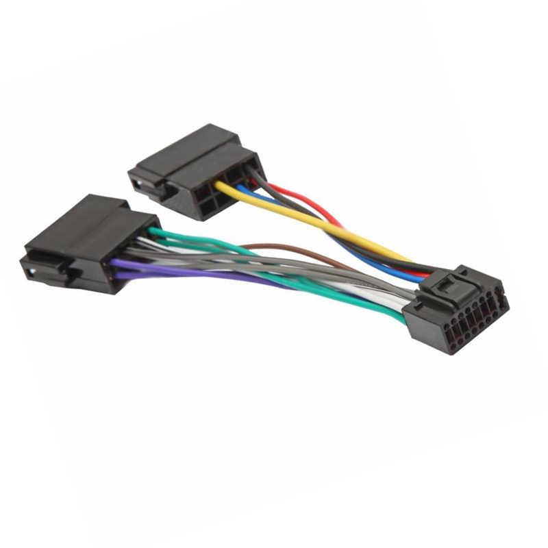Aliexpress Com Buy Biurlink Car Iso Harness Radio Wire Manual Guide