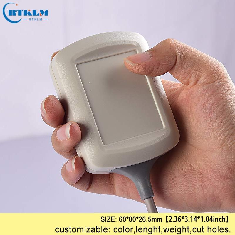 Handheld plastic elektrische doos 60*80*26.5mm abs doos diy instrument case abs junction box IP54 plastic doos voor elektronische project