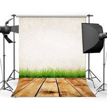Photographie toile de fond abstrait Shabby Chic Grunge solide couleur mur herbe champ Vintage rayures bois plancher décors
