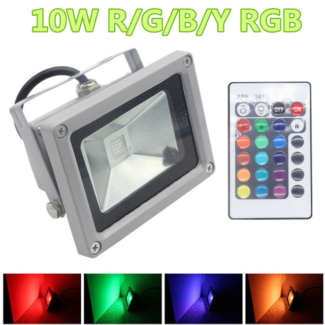 110220v 10w led floodlight outdoor waterproof landscape lighting 110220v 10w led floodlight outdoor waterproof landscape lighting rgb remote controller exterior spotlight aloadofball Image collections
