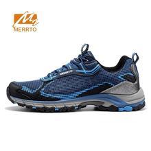 MERRTO Men's Mesh Hiking Trekking Shoes Sneakers For Men Breathable Comfortable Spring & Fall Climbing Mountain Shoes Man