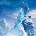 10x10FT Castillo Palacio de Cristal de Hielo Congelado Nieve Montaña Personalizado Fotografía Telones Estudio Fondos Vinilo 8x8 8x12 10x20