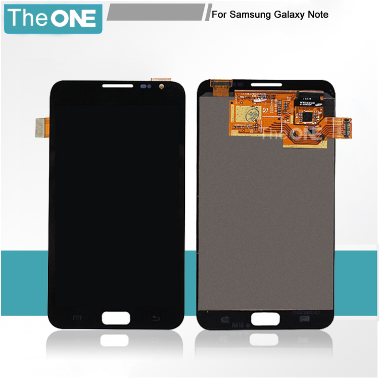 ФОТО Free DHL For Samsung Galaxy Note 1 i9220 N7000 White/Black LCD+Touch Screen Digitizer Assembly Complete(with logo)