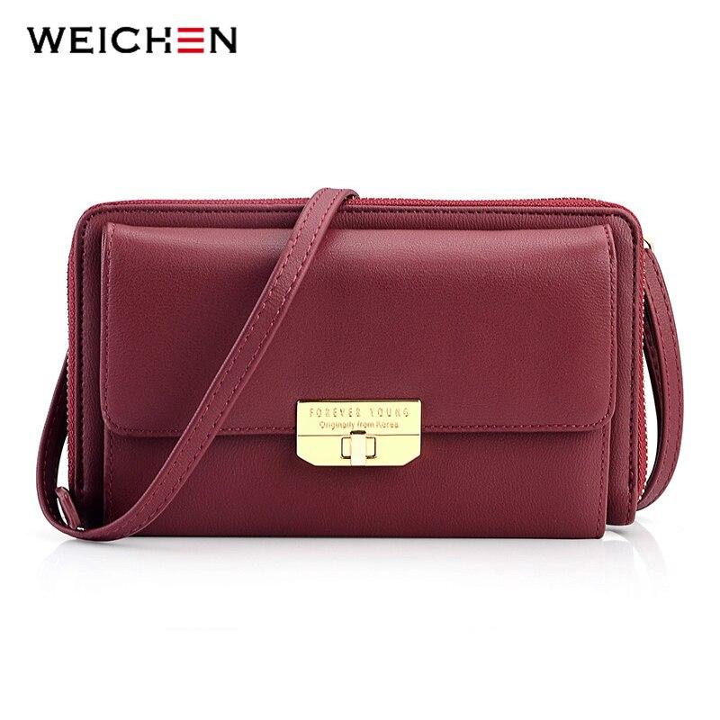 WEICHEN Brand Designer Fashion Shoulder Bag For Women High Quality Ladies Messenger Bag Female Handbags Women's Mini Bags недорго, оригинальная цена