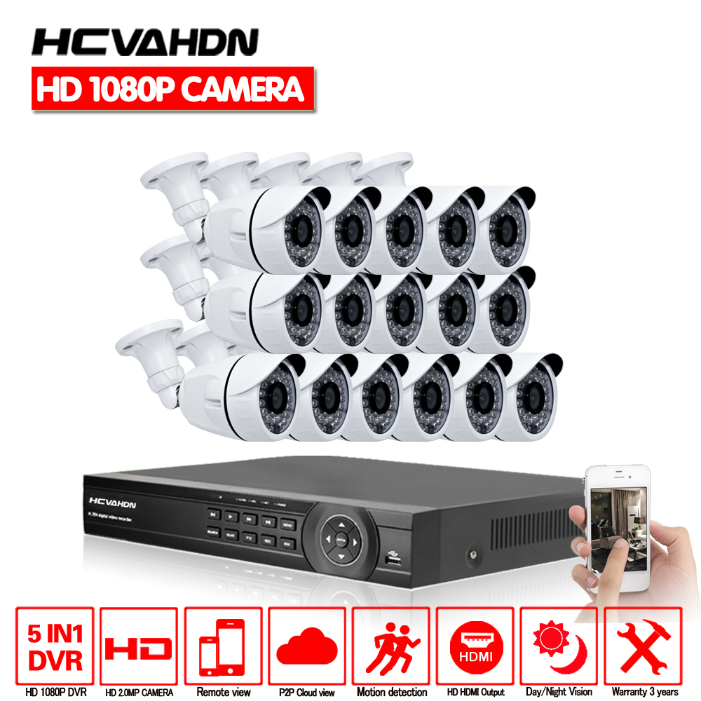 16Channel  DVR 16pcs AHD1080P 2.0MP AHD CCTV Camera System 3000TVL Outdoor Indoor Day Night Vision Home DIY Kit 16ch Waterproof16Channel  DVR 16pcs AHD1080P 2.0MP AHD CCTV Camera System 3000TVL Outdoor Indoor Day Night Vision Home DIY Kit 16ch Waterproof