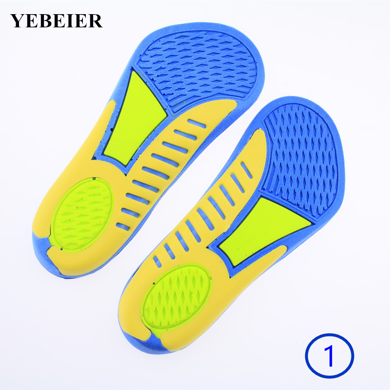soft  shock absorbant arch-support insole Unisex 3/4 sport running insoles mountaineering gel insoles for men women 2016 1 pair large size orthotic arch support massaging silicone anti slip gel soft sport shoe insole pad for man women