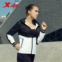 883328159055 XTEP streetwear Women Sports Jacket running Baseball basic Jackets Coat Sweatshirt