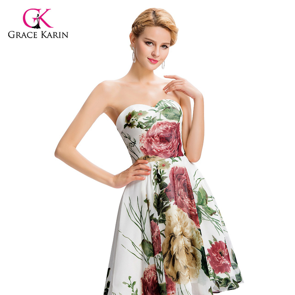 Cheap short bridesmaid dresses under 50 grace karin floral print cheap short bridesmaid dresses under 50 grace karin floral print bridesmaid dress 2018 wedding party dress prom dresses gk32 in bridesmaid dresses from ombrellifo Gallery