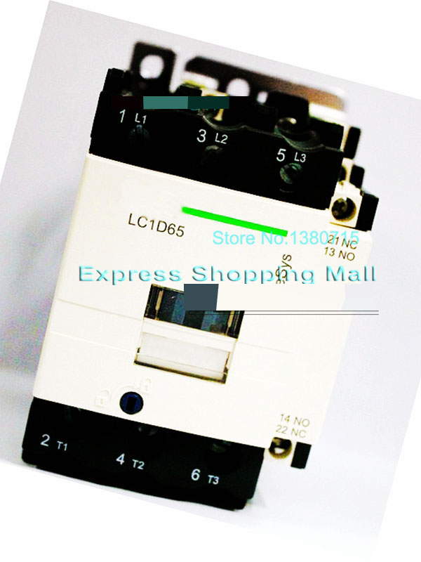 New LC1D65F7C Contactor 65A AC 110V 50/60Hz LC1-D65F7C gmc 220 ac electromagnetic contactor brand new