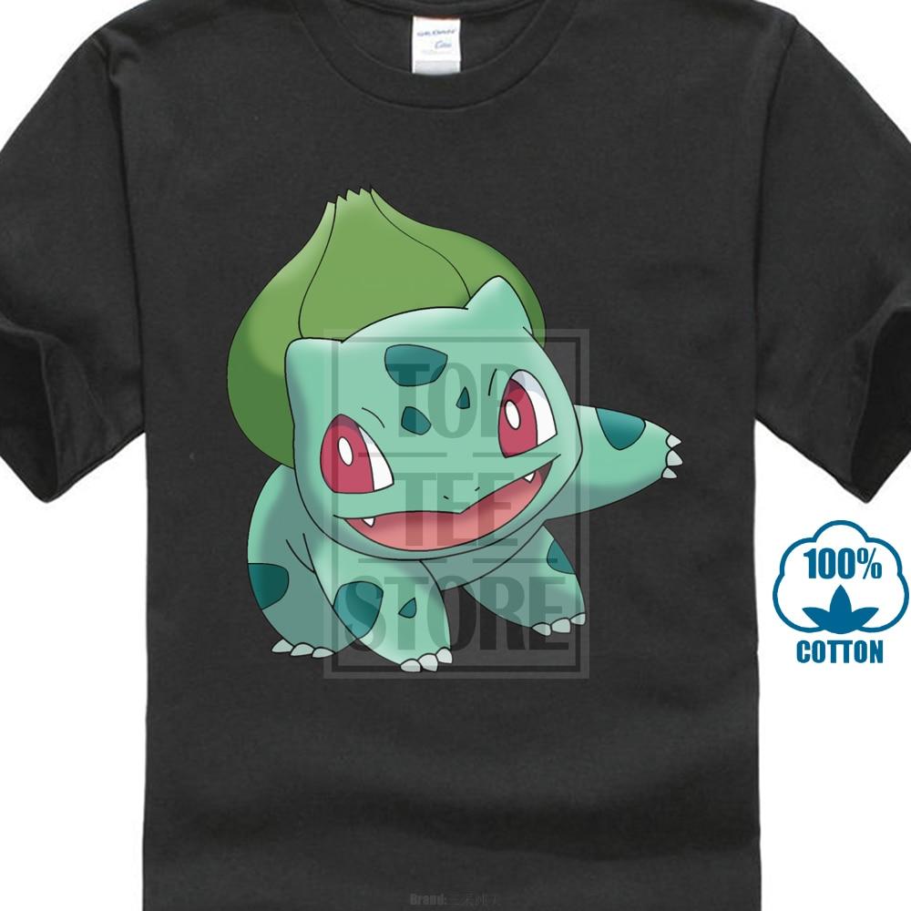 2017-newest-funny-style-men-2017-newest-funny-cute-bulbasaur-green-font-b-pokemon-b-font-men's-t-shirt