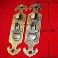 103*21 MM fazer o velho de cobre maçaneta da porta lidar com mobiliário antigo, old-fashioned cobre alça sobre a maçaneta da porta fivela