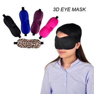100PCs Black Sleeping Eye Mask