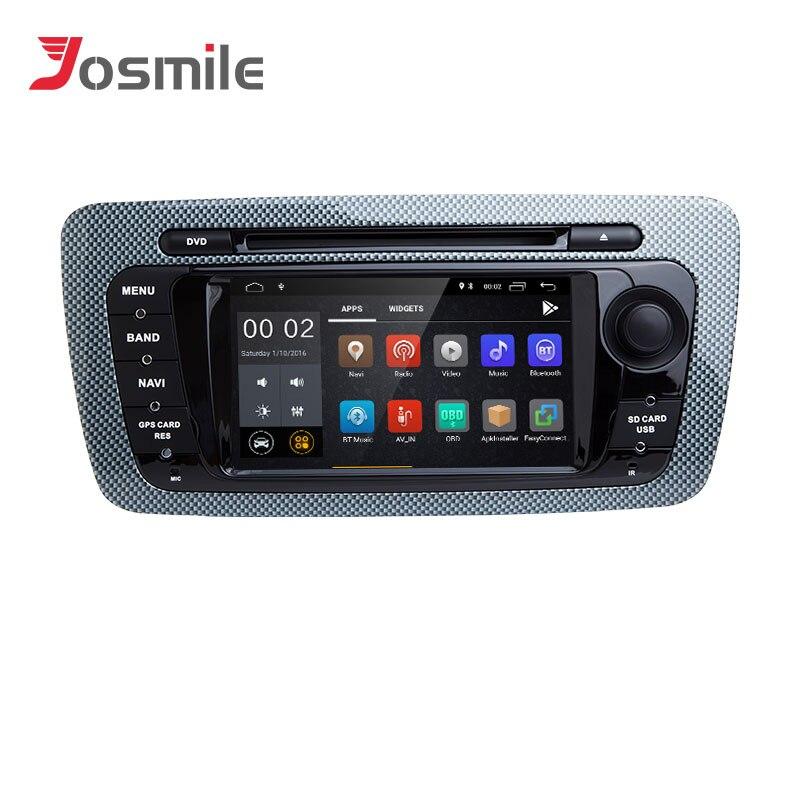 2 Din Android 8,1 автомобиль DVD мультимедийный плеер для сиденья Ibiza 6J Cupra MK4 2009 2013 gps навигации Авторадио SportCoupe Ecomotive