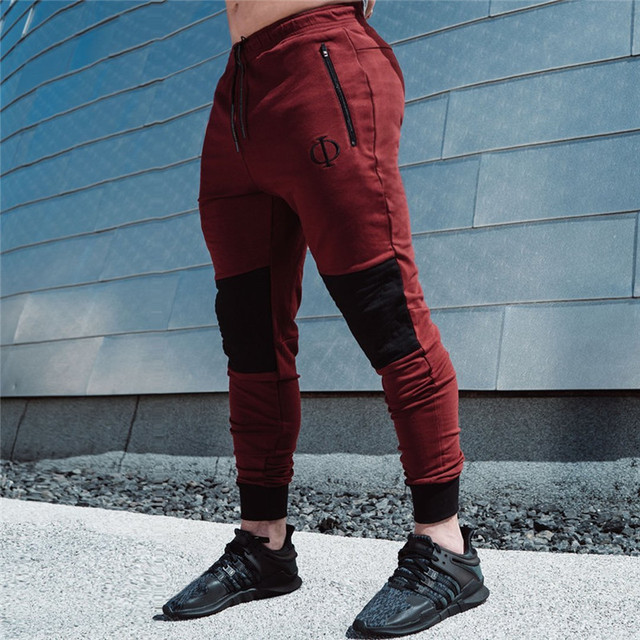 80d3c3286 2018 NEW Running Pants Men Sport Pants Fitness Joggers Run Jogging Pants  Sportswear Sweatpants GYM Training Trousers