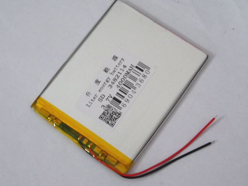 P76T P76T-generation dual-core P76S 3482114 3.7V 4000MAH The tablet battery 8 inches N83, N86 A86 A85, Rechargeable batte