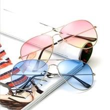 Pilot Aviation Night Vision Sunglasses Men Women Goggles Glasses UV400 Sun Driver Driving Eyewear