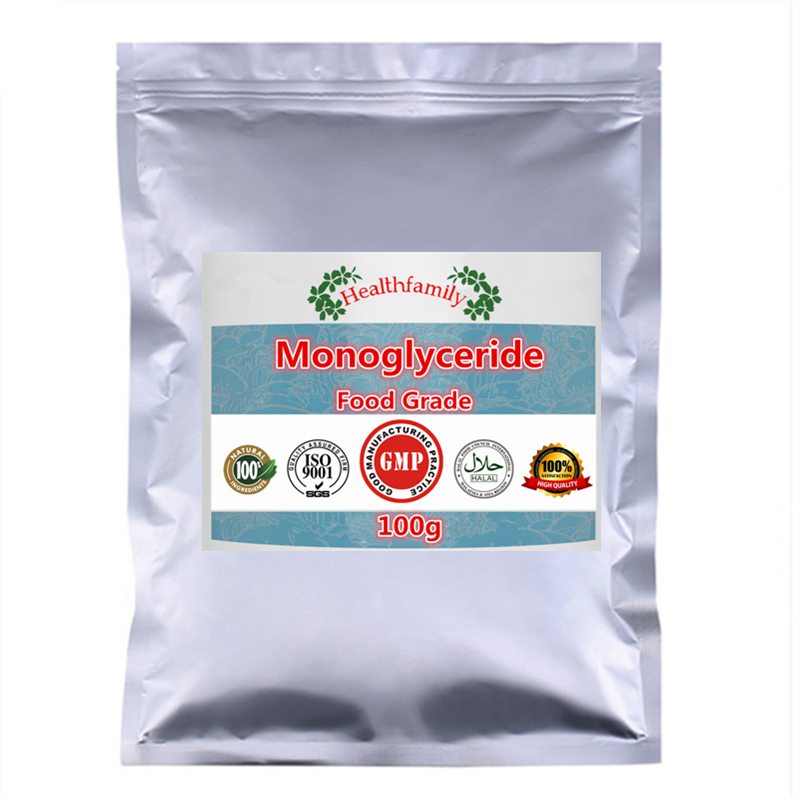 Good Food Emulsifier Diacetyl Tartaric Acid Monoglyceride (DATEM) Powder, No Additives,Free Shipping