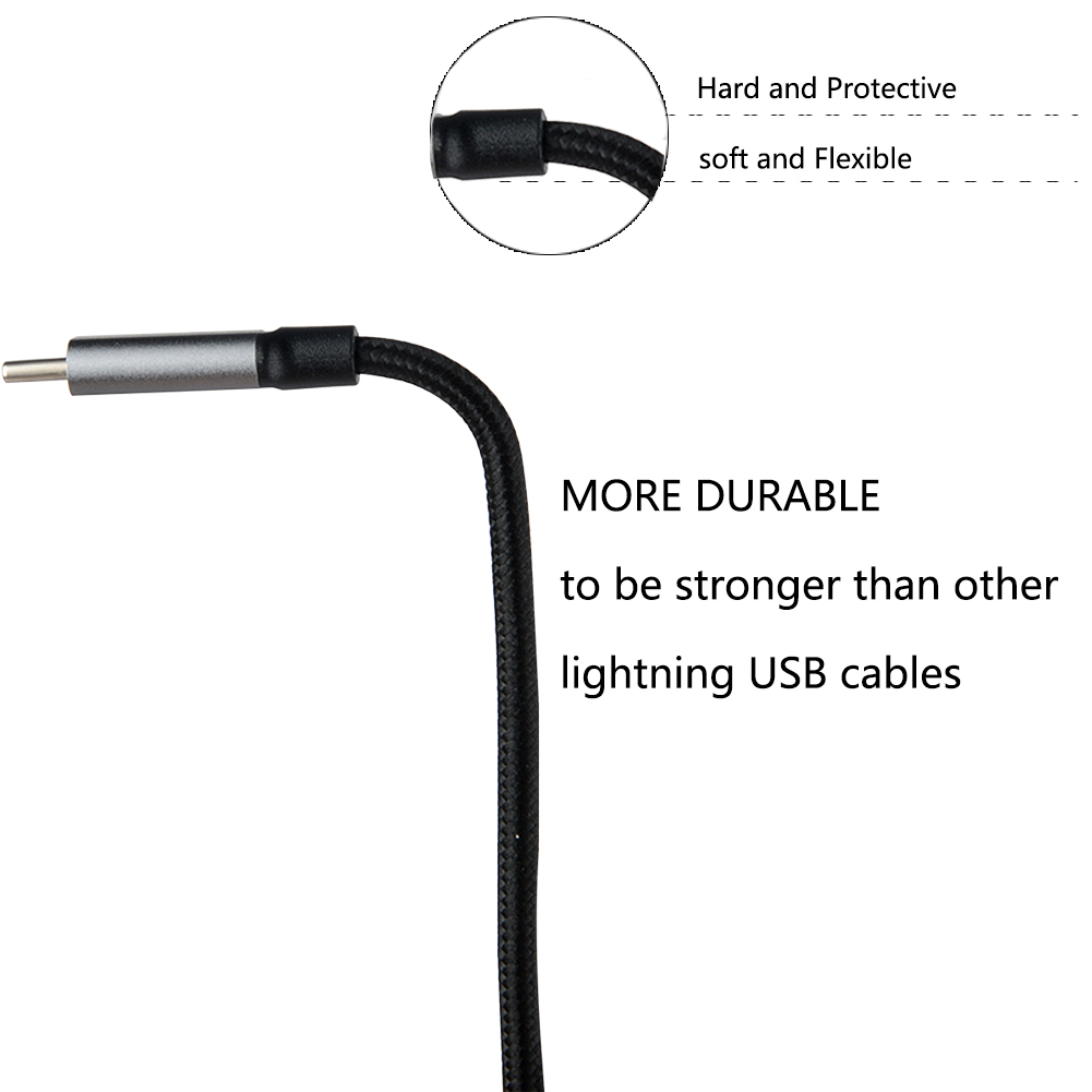 2A/3A USB Type C Cable USB 3.1 Fast Charging USB-C Type-C Data Cable for Samsung Galaxy S9 Note 8 S8 Google Pixel 2/2 XL HTC
