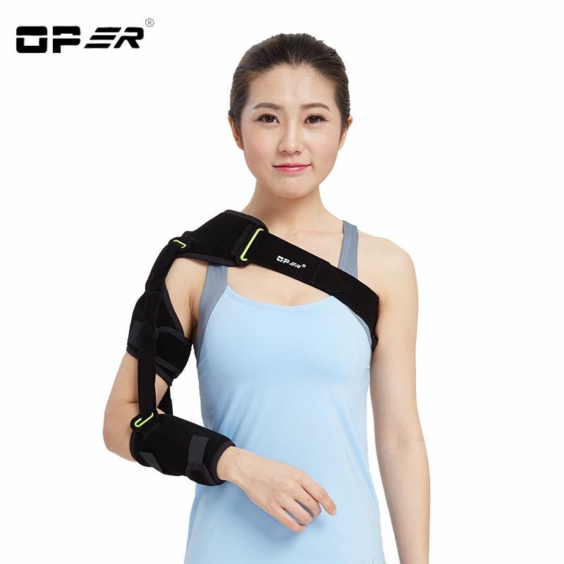 OPER Shoulder belt Support Arm Sling For Stroke Hemiplegia Subluxation Dislocation Recovery Rehabilitation Shoulder Brace CO-26B
