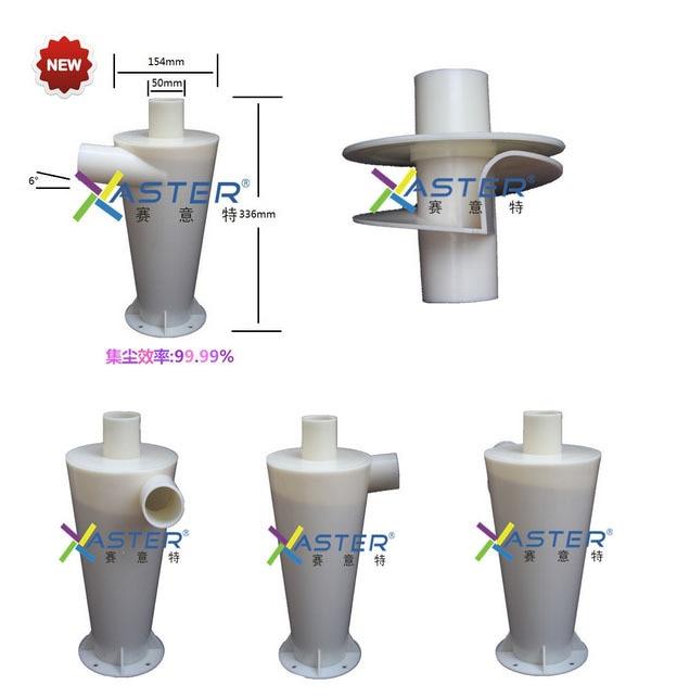 Kolektor serbuk debu kolon filter kinerja tinggi untuk vakuum