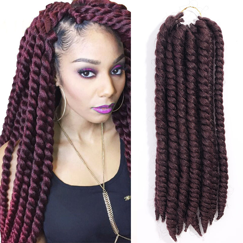 Crochet Hair Vendors : crochet braids Havana Mambo Twist for Female Crochet Braid Hair ...
