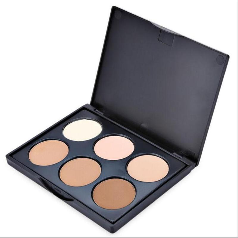 POPFEEL Powder-Palette Corrector Concealer Makeup-Powder Highlighter-Bronzer Face Contouring