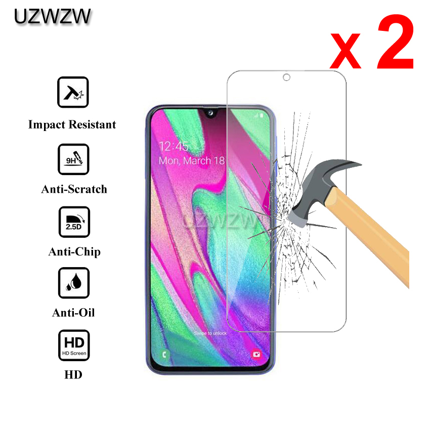 2pcs Glass For Samsung Galaxy A40 2.5D 0.26mm Premium Protective Tempered Glass Screen Protector For Samsung A40 Glass
