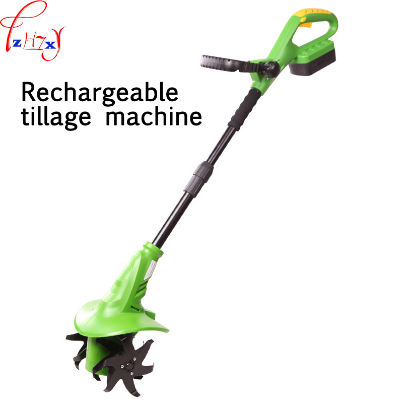 18V rechargeable micro - tillage machine electric hoes electric ripping machine ET1401 electric micro - tillage machine 1pc tillage system in rice cultivation