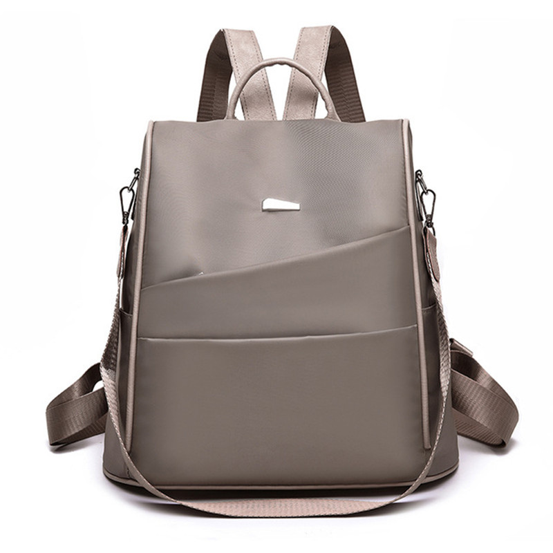 Anti-theft Women Backpack For School Style Waterproof Oxford Bag For College Simple Design Women Casual Daypacks Mochila Female