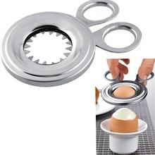 Удобный нержавеющая сталь Eggshell Topper открывалка для яиц кухонные ножницы, Кусачки Инструменты