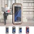 Phone Case for Samsung Galaxy S7 Металла Водонепроницаемость Ударопрочный Крышка Shell Case для Samsung Galaxy S7