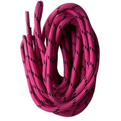 Круглые шнурки для ботинок шнурки с точками 47 дюймов-63 дюйма - Цвет: fuchsia
