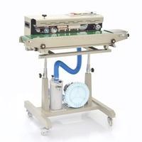 Automatique d'étanchéité machine pour en plastique/film de pommes de terre, alimentaire, emballage SCELLANT LA (220 V/50 HZ)