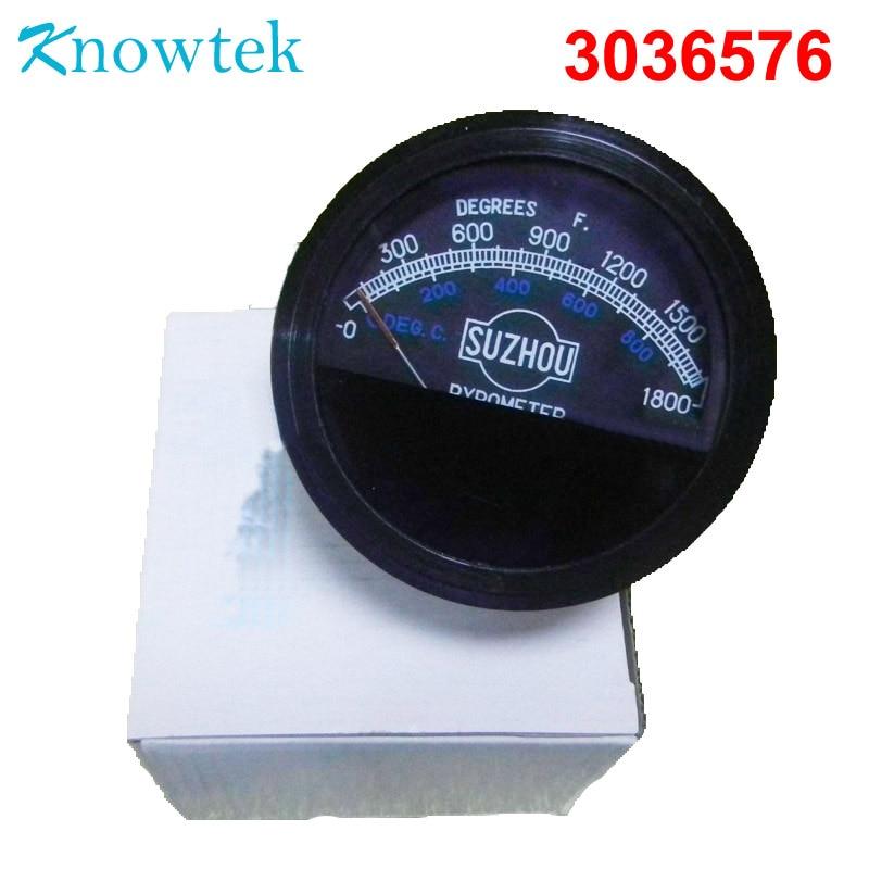 3036576 Marine engine temperature gauge pyrometer Gauge for ship Diesel Engine NT855 NTA855 Parts