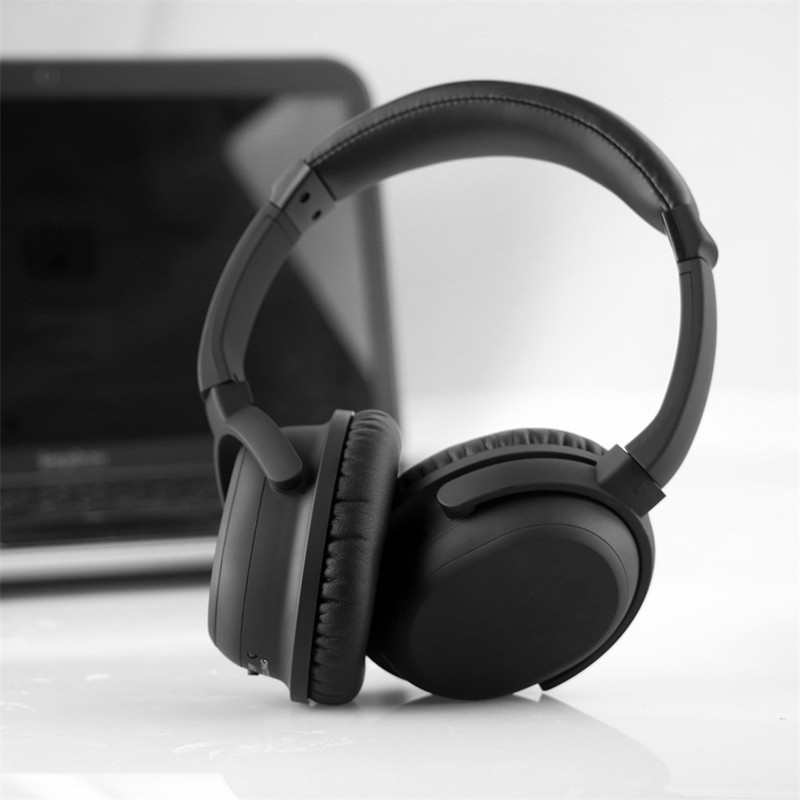 BH-519CSR 4.0 Active Noise Cancelling Bluetooth Headphones with Wireless Stereo Headset Deep bass  with Microphone / for phone mee audio matrix3 af68 stereo wireless bluetooth headphones with microphone active noise cancelling headset headphone for phone